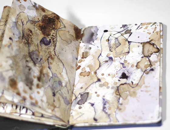 Ein Skizzenbuch auf Welttournee<br /><em>A sketchbook tours the world</em>