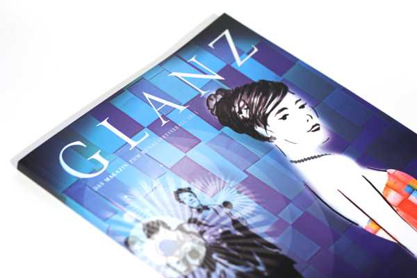 Cover Illustration GLANZ Magazin<br /><em>cover illustration GLANZ magazine</em>